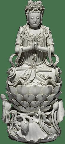 kwan yin statuette